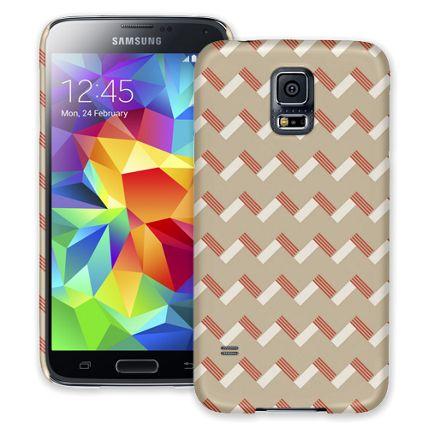 Striped Chevron Samsung Galaxy S5 ColorStrong Slim-Pro Case