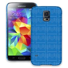Chevron Blueprint Samsung Galaxy S5 ColorStrong Slim-Pro Case