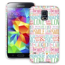 Smile & Laugh Samsung Galaxy S5 ColorStrong Slim-Pro Case