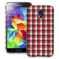 Picnic Blanket Plaid Samsung Galaxy S5 ColorStrong Slim-Pro Case