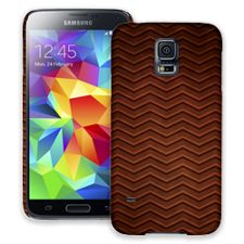 Rusted Steel Chevron Samsung Galaxy S5 ColorStrong Slim-Pro Case