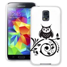 Scrollwork Owl Samsung Galaxy S5 ColorStrong Slim-Pro Case