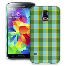 Verdant Plaid Samsung Galaxy S5 ColorStrong Slim-Pro Case