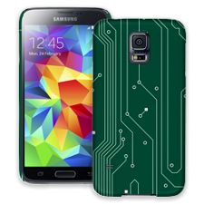 Circuit Board Highway Samsung Galaxy S5 ColorStrong Slim-Pro Case