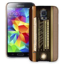 Retro Stereo Samsung Galaxy S5 ColorStrong Slim-Pro Case