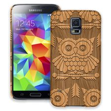 Woodcut Owl Samsung Galaxy S5 ColorStrong Slim-Pro Case