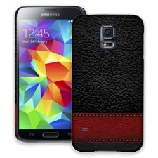 Leather Wallet Samsung Galaxy S5 ColorStrong Slim-Pro Case