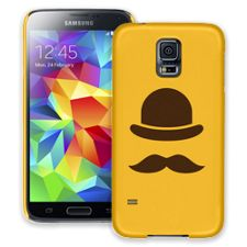 Bowler Hat & Mustache Samsung Galaxy S5 ColorStrong Slim-Pro Case