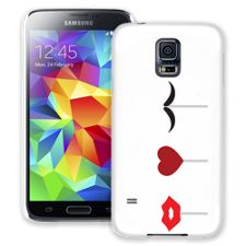 She Loves He Samsung Galaxy S5 ColorStrong Slim-Pro Case