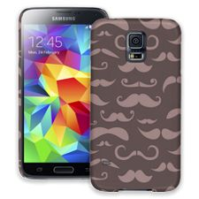 Chocolate Milk Mustaches Samsung Galaxy S5 ColorStrong Slim-Pro Case