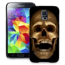 Grinning Skull Samsung Galaxy S5 ColorStrong Slim-Pro Case
