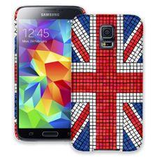 Union Jack Mosaic Samsung Galaxy S5 ColorStrong Slim-Pro Case