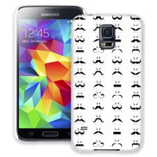 Many Mustaches Samsung Galaxy S5 ColorStrong Slim-Pro Case