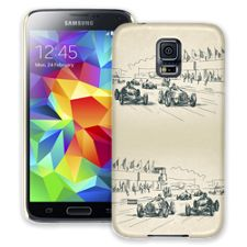 Sketch Racers Samsung Galaxy S5 ColorStrong Slim-Pro Case