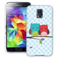 Homespun Owl Friends Samsung Galaxy S5 ColorStrong Slim-Pro Case