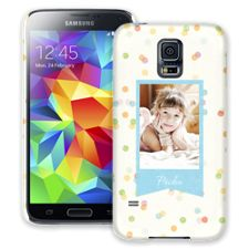 Paper Dots Samsung Galaxy S5 ColorStrong Slim-Pro Case