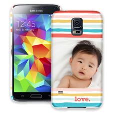 Wavy Stripes Samsung Galaxy S5 ColorStrong Slim-Pro Case
