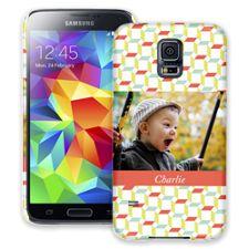Retro Blocks Samsung Galaxy S5 ColorStrong Slim-Pro Case