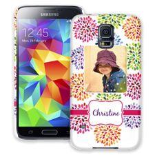 Chrysanthemum Fireworks Samsung Galaxy S5 ColorStrong Slim-Pro Case