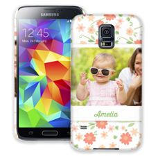 Sweet Floral Samsung Galaxy S5 ColorStrong Slim-Pro Case