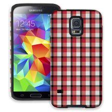 Picnic Blanket Plaid Samsung Galaxy S5 ColorStrong Cush-Pro Case