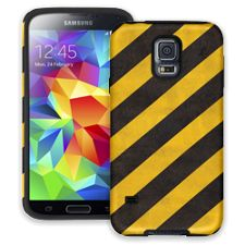 Caution Lines Samsung Galaxy S5 ColorStrong Cush-Pro Case