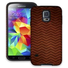 Rusted Steel Chevron Samsung Galaxy S5 ColorStrong Cush-Pro Case