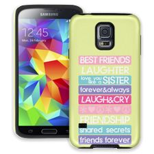 Besties 4Ever Samsung Galaxy S5 ColorStrong Cush-Pro Case