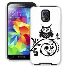 Scrollwork Owl Samsung Galaxy S5 ColorStrong Cush-Pro Case