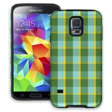 Verdant Plaid Samsung Galaxy S5 ColorStrong Cush-Pro Case