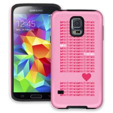 Best Friends & Hearts Samsung Galaxy S5 ColorStrong Cush-Pro Case