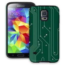 Circuit Board Highway Samsung Galaxy S5 ColorStrong Cush-Pro Case