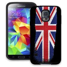 Brushstroke Union Jack Samsung Galaxy S5 ColorStrong Cush-Pro Case