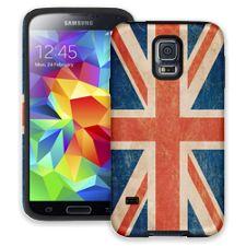 Vintage British Flag Samsung Galaxy S5 ColorStrong Cush-Pro Case