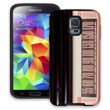 Vintage Radio Dial Samsung Galaxy S5 ColorStrong Cush-Pro Case
