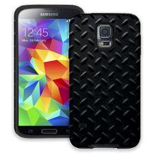 Black Diamond Plate Samsung Galaxy S5 ColorStrong Cush-Pro Case