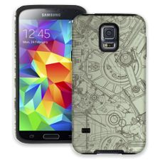 Technical Drawing Samsung Galaxy S5 ColorStrong Cush-Pro Case