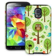 Forest Owl Samsung Galaxy S5 ColorStrong Cush-Pro Case