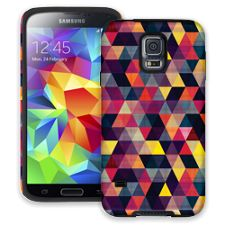Transparent Triangles Samsung Galaxy S5 ColorStrong Cush-Pro Case