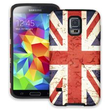 Peeling Paint Union Jack Samsung Galaxy S5 ColorStrong Cush-Pro Case