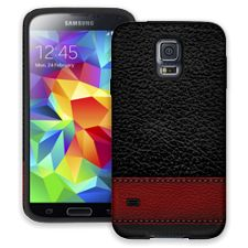 Leather Wallet Samsung Galaxy S5 ColorStrong Cush-Pro Case