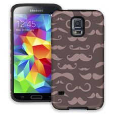 Chocolate Milk Mustaches Samsung Galaxy S5 ColorStrong Cush-Pro Case