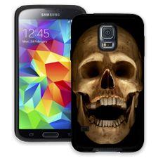Grinning Skull Samsung Galaxy S5 ColorStrong Cush-Pro Case