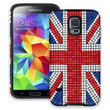 Union Jack Mosaic Samsung Galaxy S5 ColorStrong Cush-Pro Case