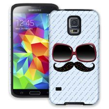 Sweet 'Stache Samsung Galaxy S5 ColorStrong Cush-Pro Case