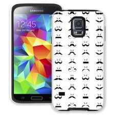 Many Mustaches Samsung Galaxy S5 ColorStrong Cush-Pro Case
