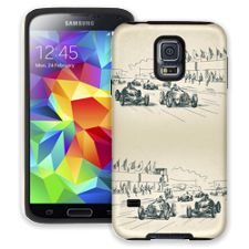 Sketch Racers Samsung Galaxy S5 ColorStrong Cush-Pro Case