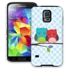 Homespun Owl Friends Samsung Galaxy S5 ColorStrong Cush-Pro Case