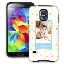 Paper Dots Samsung Galaxy S5 ColorStrong Cush-Pro Case