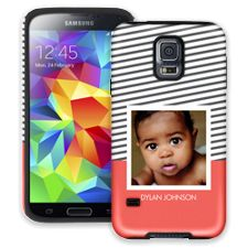 Skinny Stripes Samsung Galaxy S5 ColorStrong Cush-Pro Case